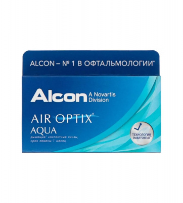 Alcon® AIR OPTIX® AQUA 6 линз